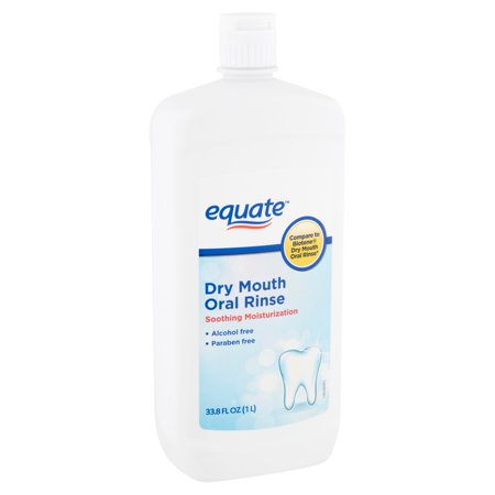 Equate Dry Mouth Oral Rinse, 33.8 fl oz
