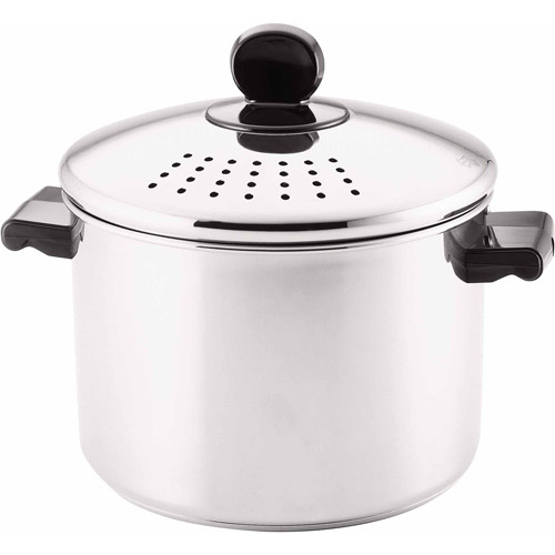 Farberware 8-Quart Covered Straining Stockpot