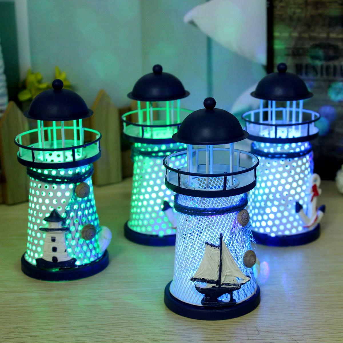 Led Electric Night Light Night Lamp Lighthouse