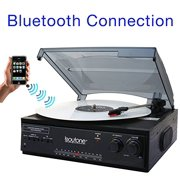 Boytone BT13B Bt-13b Bluetooth Connection 3 Speed Stereo Turntable