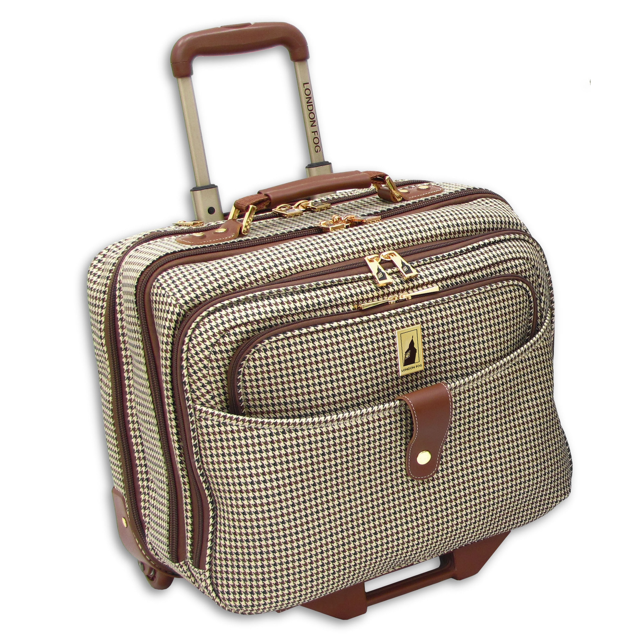 London Fog  Chelsea Collection 17-inch Rolling Laptop Tot...
