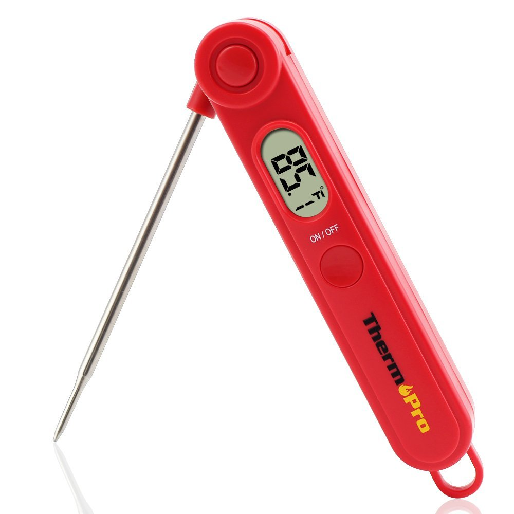 ThermoPro TP03A Instant Read Digital Food Meat Thermometer for Kitchen Cooking BBQ Grill Smoker