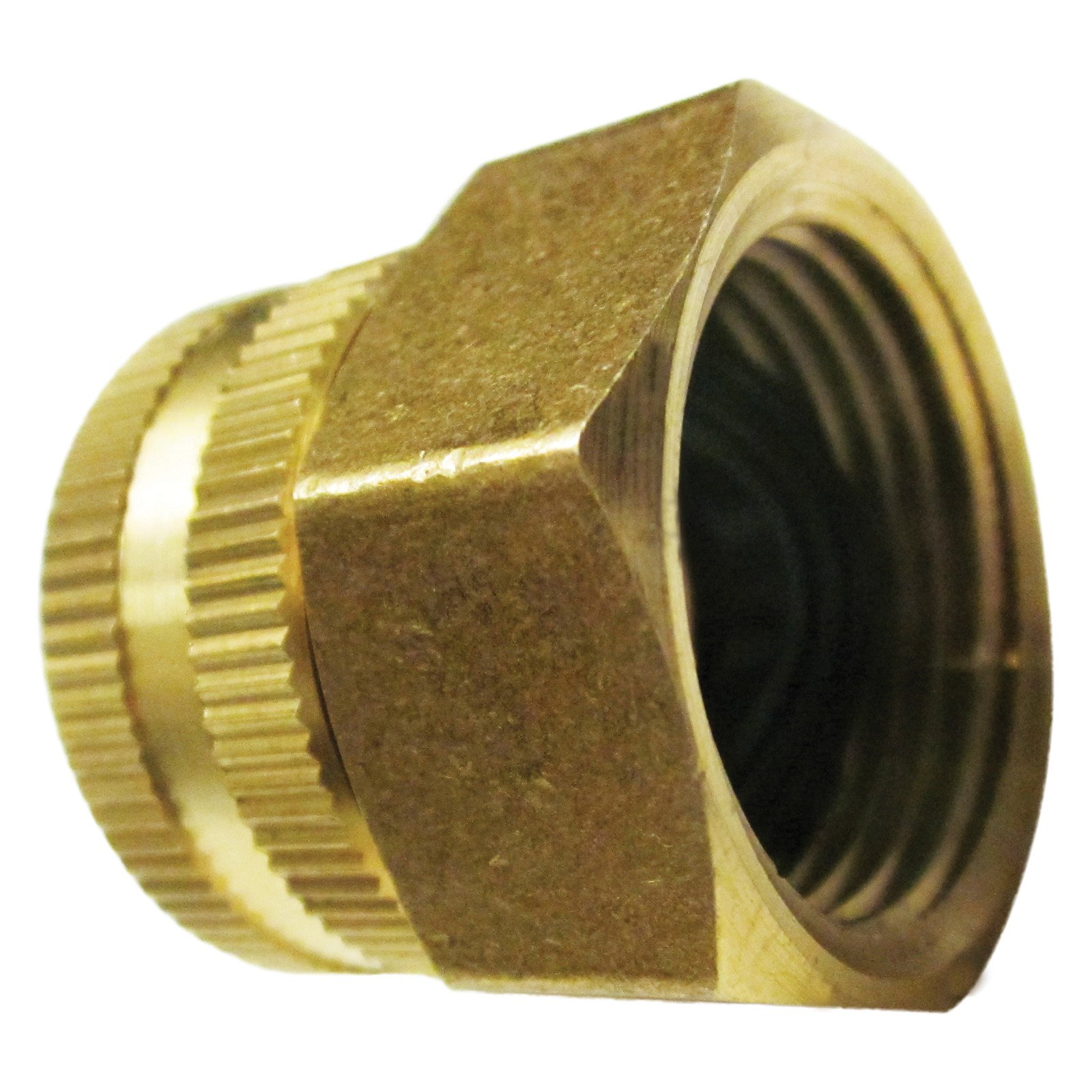 "Dual Swivel Brass Connector 3/4"" x 3/4"" Garden Hose to Pipe End (SPX Series) – SPX-BSC"