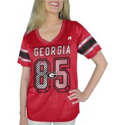 Russell NCAA Georgia Bulldogs, Women's Heather V-neck Game Jersey