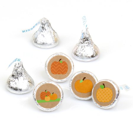Pumpkin Patch - Fall & Halloween Party Round Candy Sticker Favors - Labels Fit Hersheys Kisses (1 sheet of 108)](School Halloween Party Food)