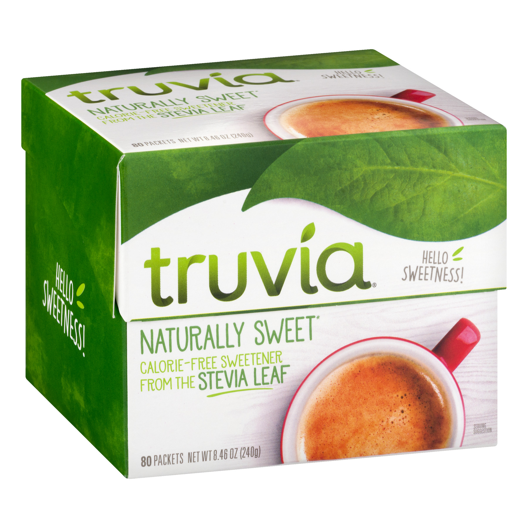 Truvia Cargill All Natural Sweetener Packets, 80 / Box (Quantity)