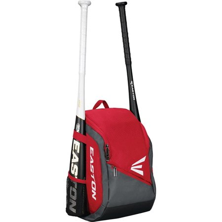Softball Accessories (Easton Game Ready Youth Baseball/Softball Backpack Bag - Red)
