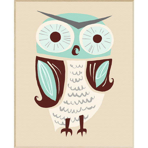 Mr. Owl Wall Decor, Plaque