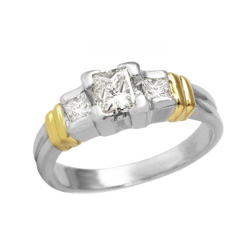 Ladies 1.02 Carat Diamond 950 Platinum Ring by Generic