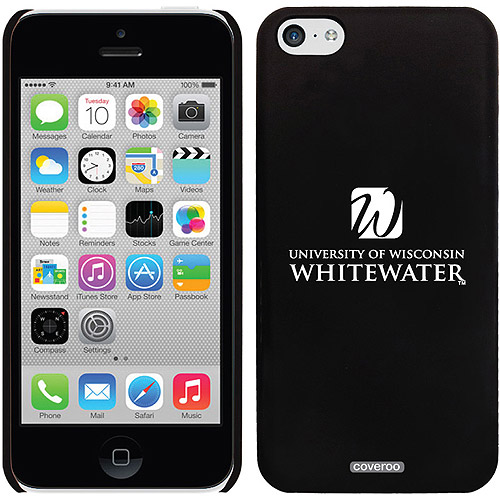 Wisconsin Whitewater Centered Design on Apple iPhone 5c Thinshield Snap-On Case by Coveroo