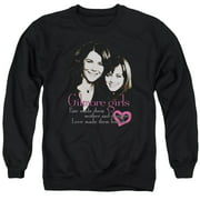Gilmore Girls Title Mens Crewneck Sweatshirt