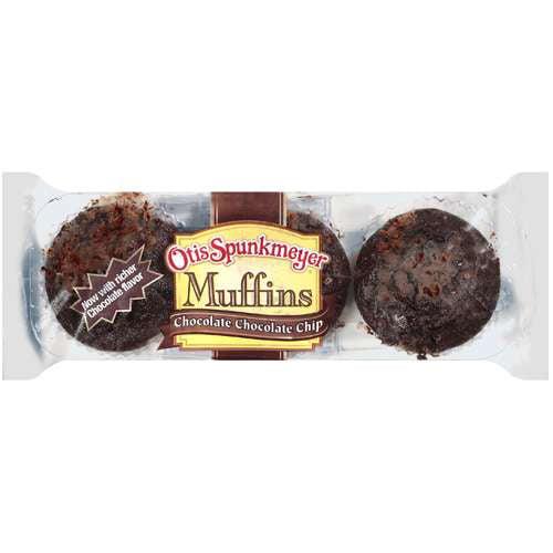 Otis Spunkmeyer: Chocolate Chocolate Chip Muffins, 12 Oz