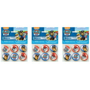 (3 Pack) PAW Patrol Bouncy Ball Party Favors, 6ct