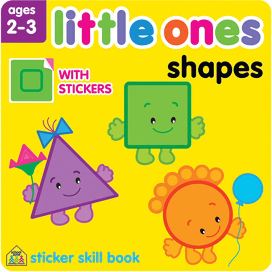 Little Ones Sticker Skill Book, Shapes