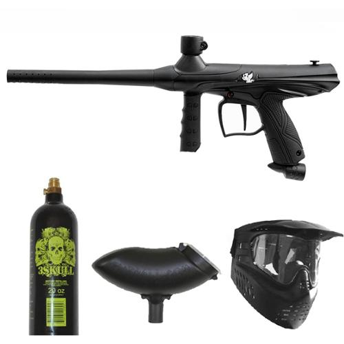 Tippmann Gryphon Paintball Marker Gun 3Skull Package Set by