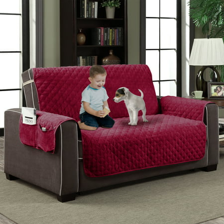 Quilted Microfiber Pet Dog Cat Couch Slipcover Furniture Protector -