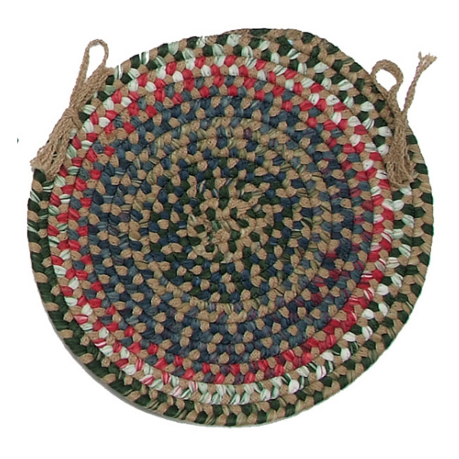 Colonial Mills Chestnut Knoll 15 in. Round Chair Pad