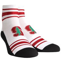 Stanford Cardinal Rock Em Socks Youth Classic Stripes Quarter-Length Socks - No Size