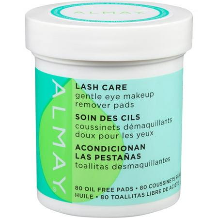 Almay Lash Care Gentle Eye Makeup Remover Pads, 80 Ct