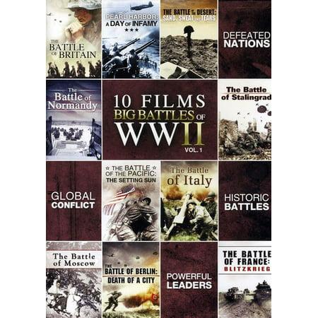 Top 10 Scary Halloween Films (10 Film Big Battle of WWII Volume 1)