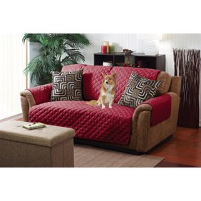 Outstanding Sure Fit Deluxe Pet Loveseat Cover Squirreltailoven Fun Painted Chair Ideas Images Squirreltailovenorg