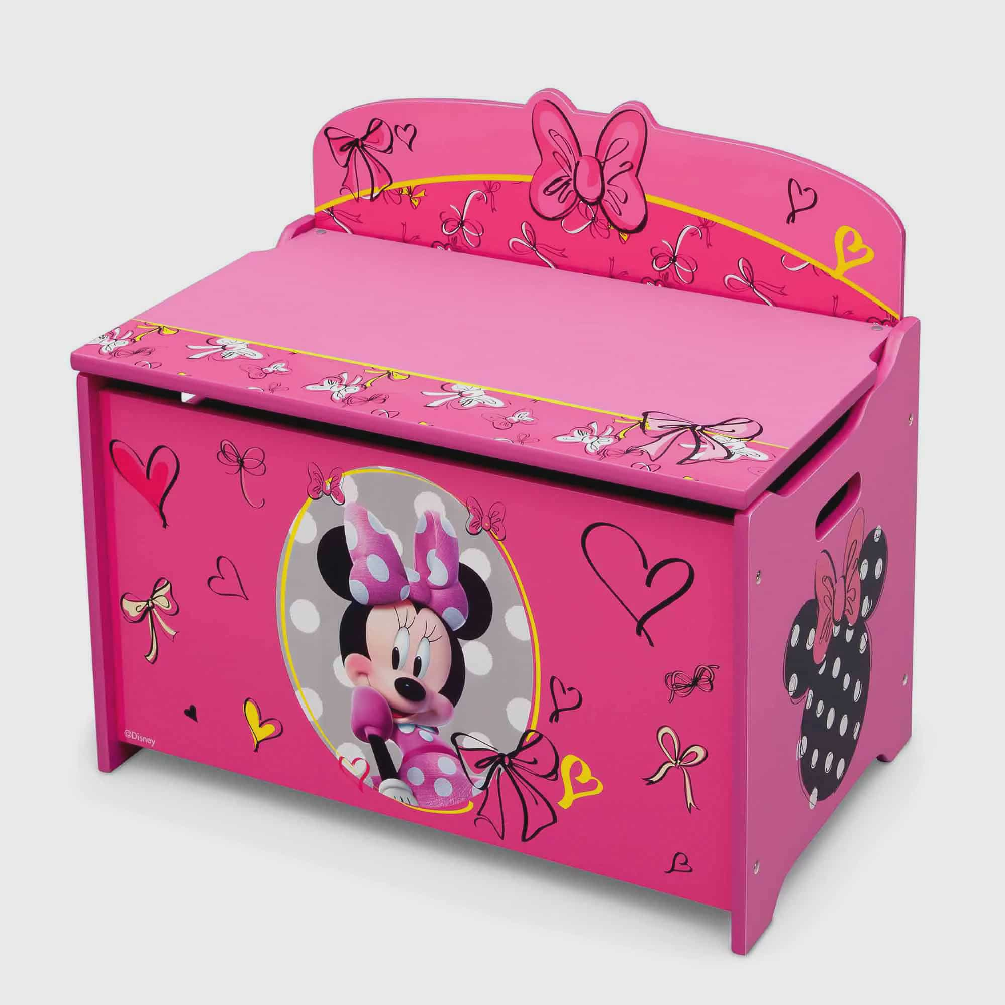 Disney Minnie Mouse Deluxe Toy Box by Delta Children's Products