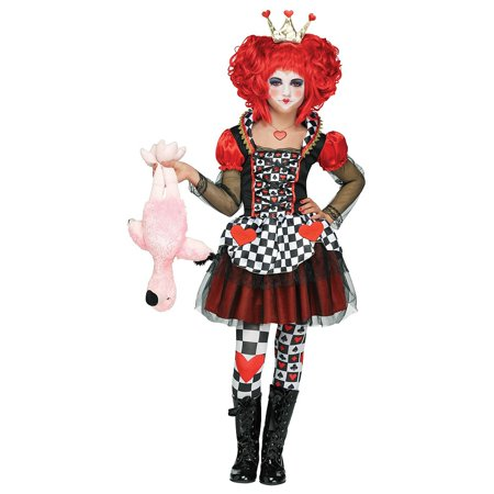 Queen of Hearts Child Costume - Medium - Queen Of Hearts Costume Pattern