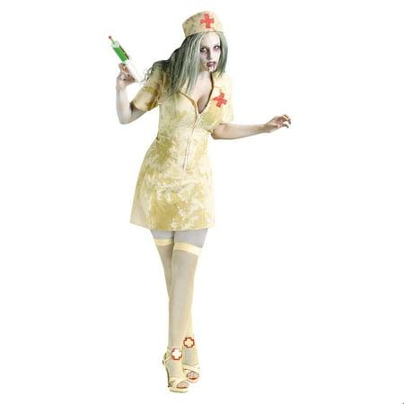 Sexy Womens Zombie Nurse Halloween Costume - Halloween Zombie Costumes Cheap