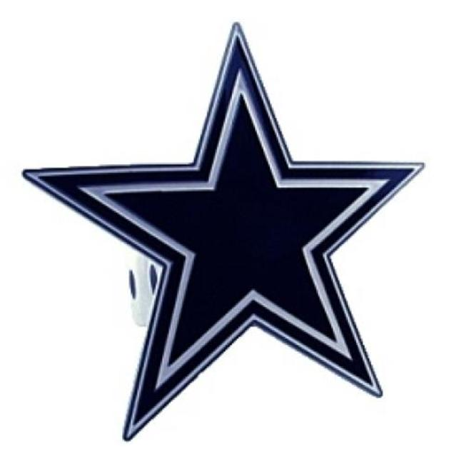 Dallas Cowboys Trailer Hitch Logo Cover