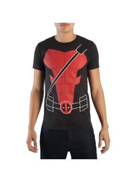 Marvel Deadpool Suit Up Costume T-Shirt | 2XL