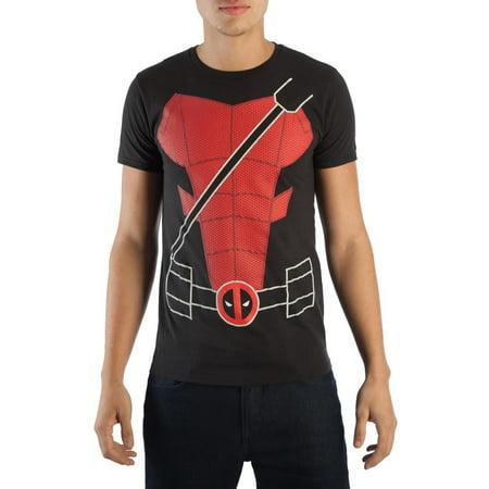 Marvel Deadpool Suit Up Costume T-Shirt | 2XL (Deadpool Suit)