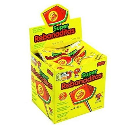 Candy Pop Rebanaditas Mexican Candy (Rebanadita Sandia Display) Rebanadita Sandia Display (Beer Pops Mexican Candy)