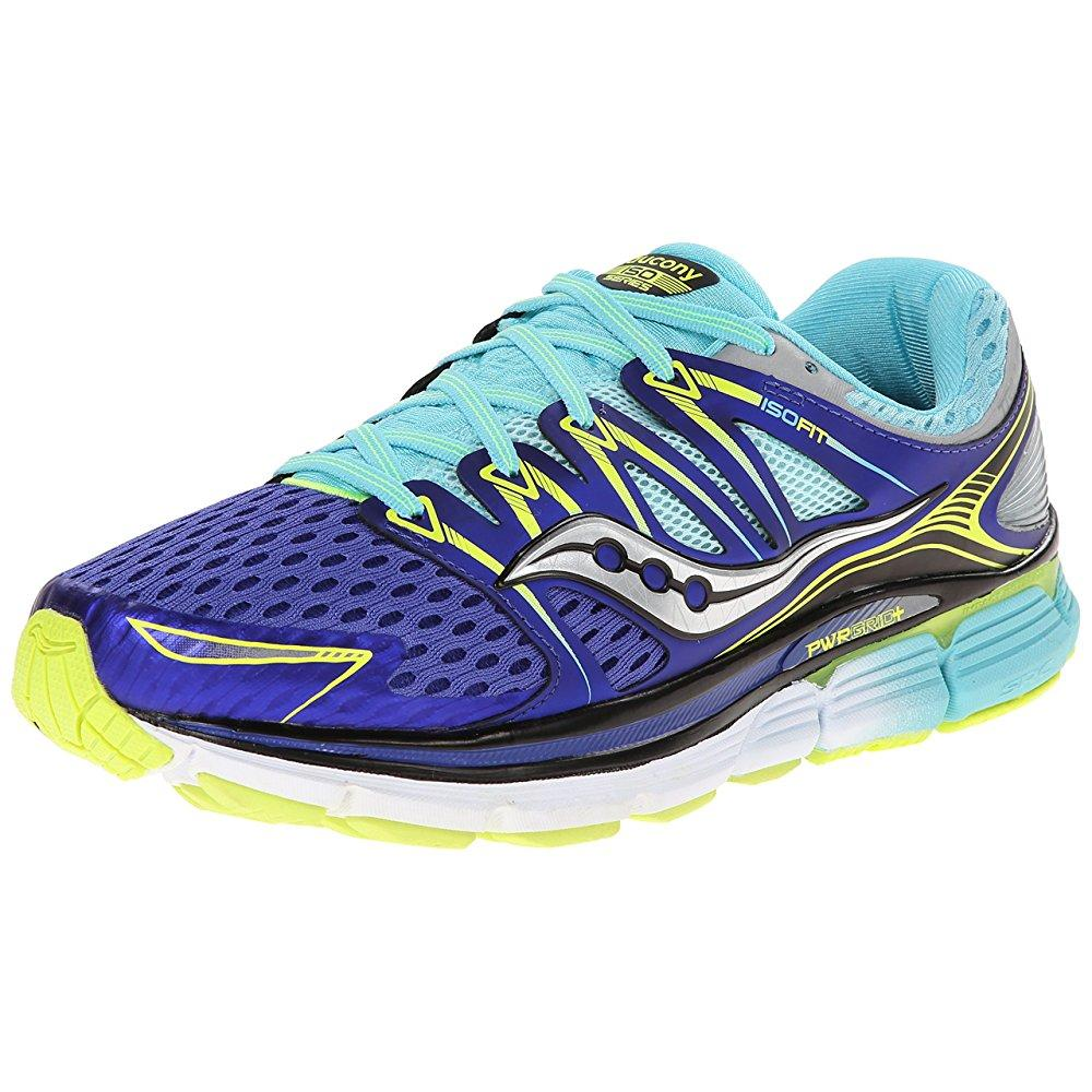 Saucony women's triumph iso running shoe, twilight/oxygen...