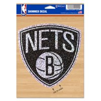 "Brooklyn Nets WinCraft 5"" x 7"" Shimmer Decal"