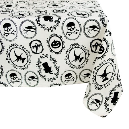 DII Halloween Portrait Tablecloth, 60x104
