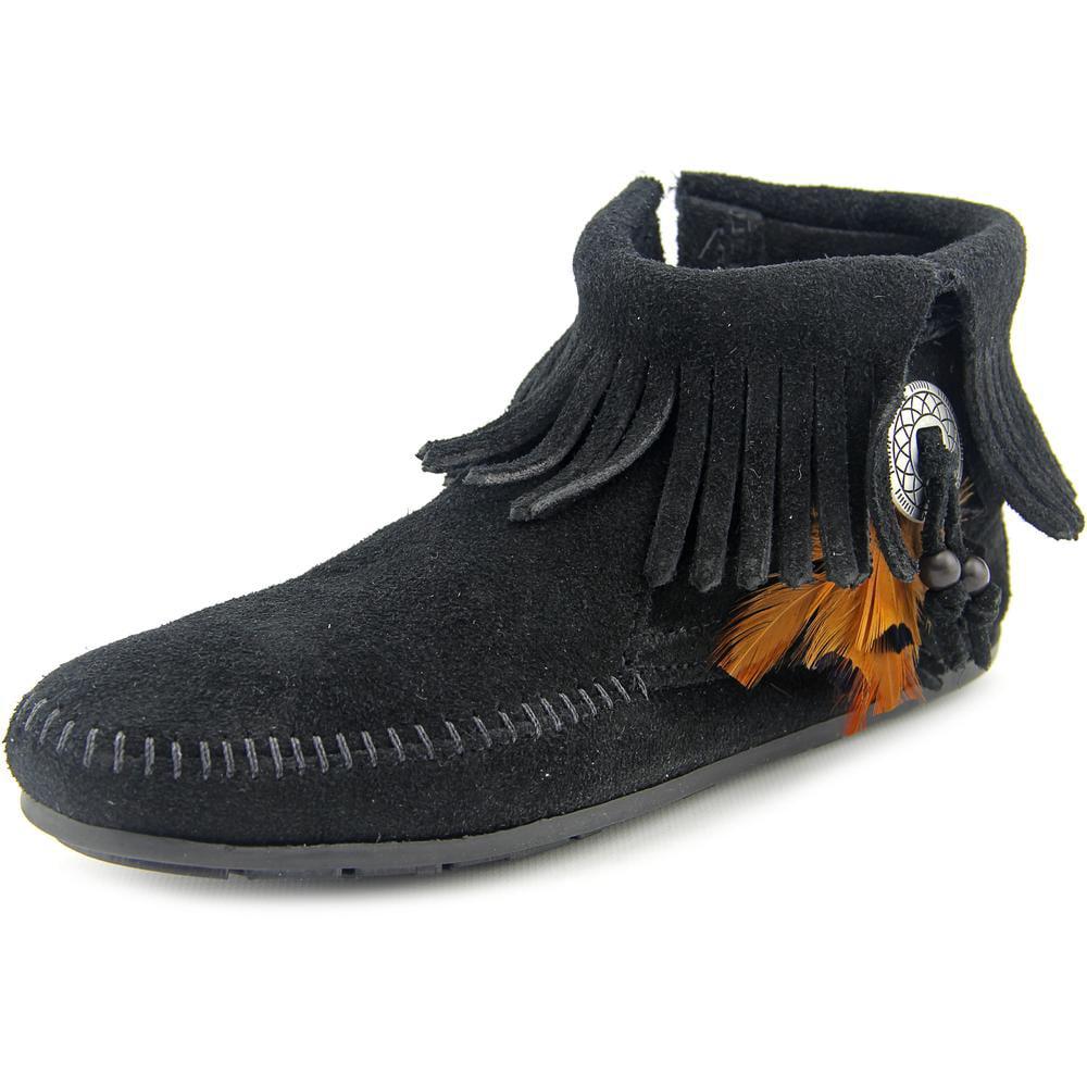 Minnetonka Concho Feather Boot Womens Style : 520 by Minnetonka