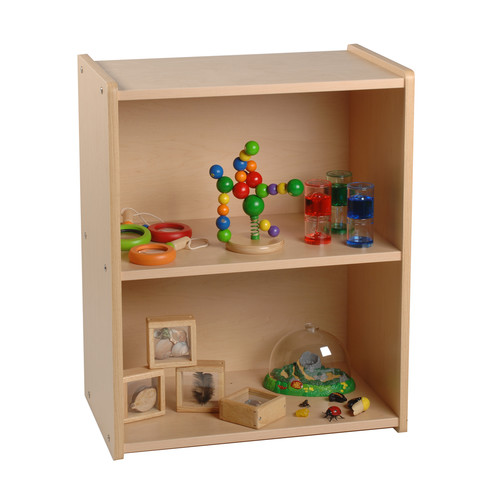 Constructive Playthings 2 Level Compact Shelving Unit