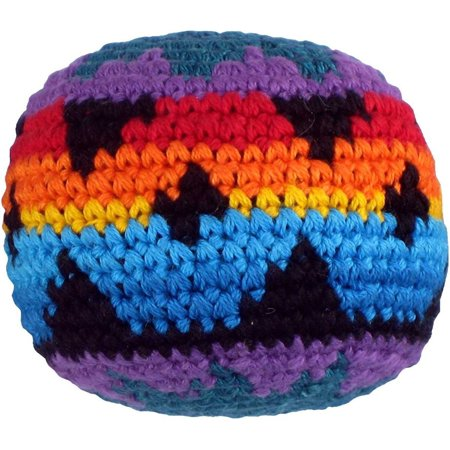 Multicolor Hacky Sack Assorted Colors And Geometric Patterns