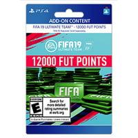 FIFA 19 12000 FUT POINTS, EA, Playstation, [Digital Download]