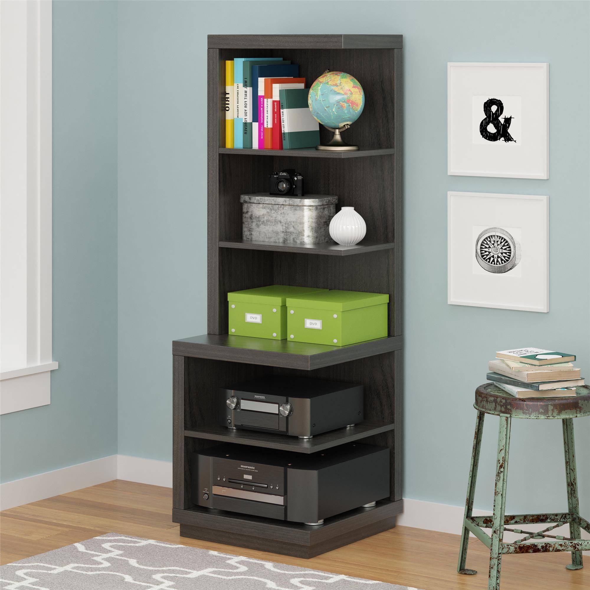 Altra Media Storage Bookcase, Espresso