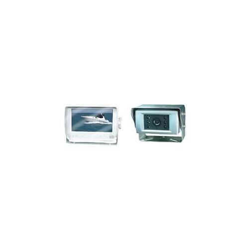 "CRIMESTOPPER SV-6987.M 7"" Waterproof Digital Color LCD Monitor & Heavy-Duty IR Camera for Marine Use"