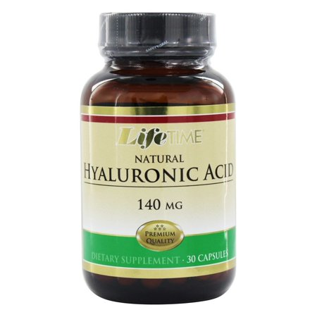 LifeTime Vitamins - Acide hyaluronique 140 mg. - 30 Capsules