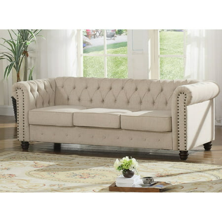 Best Master Furniture Venice Upholstered Sofa (Best Selling Coach Bags)