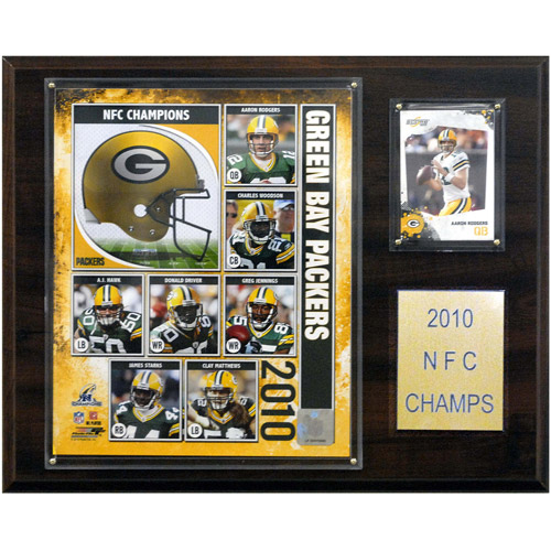 NFL 2010 NFC Champions Plaque