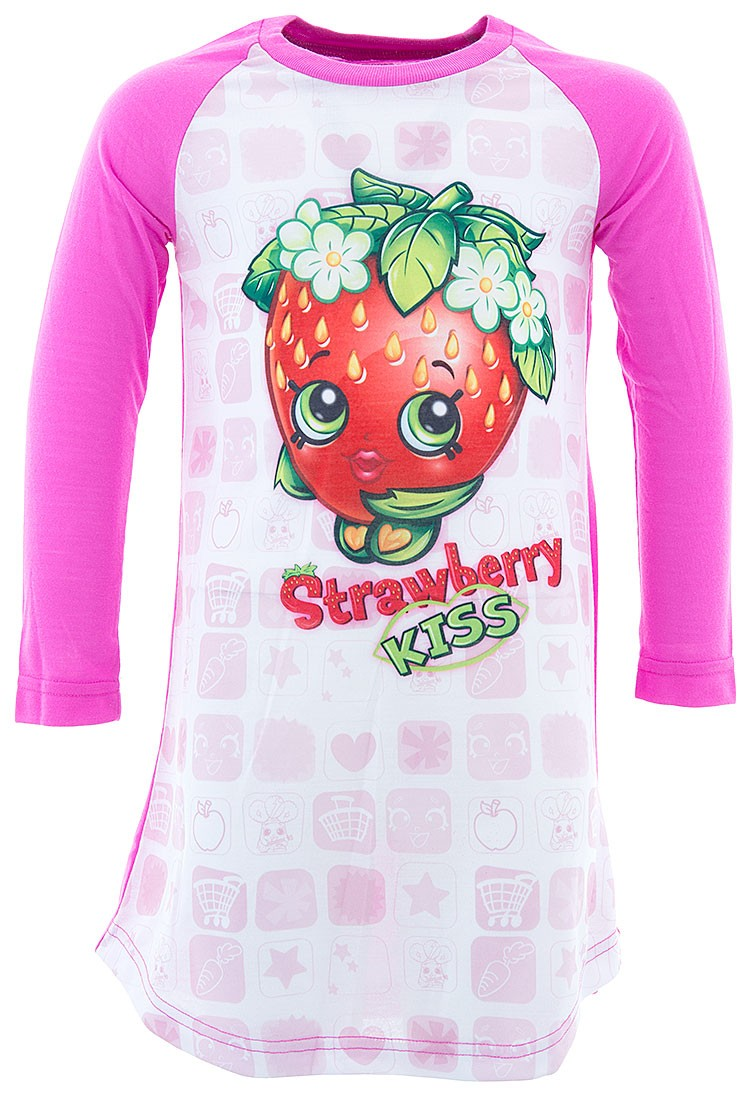 Shopkins Girls' Strawberry Kiss Nightgown