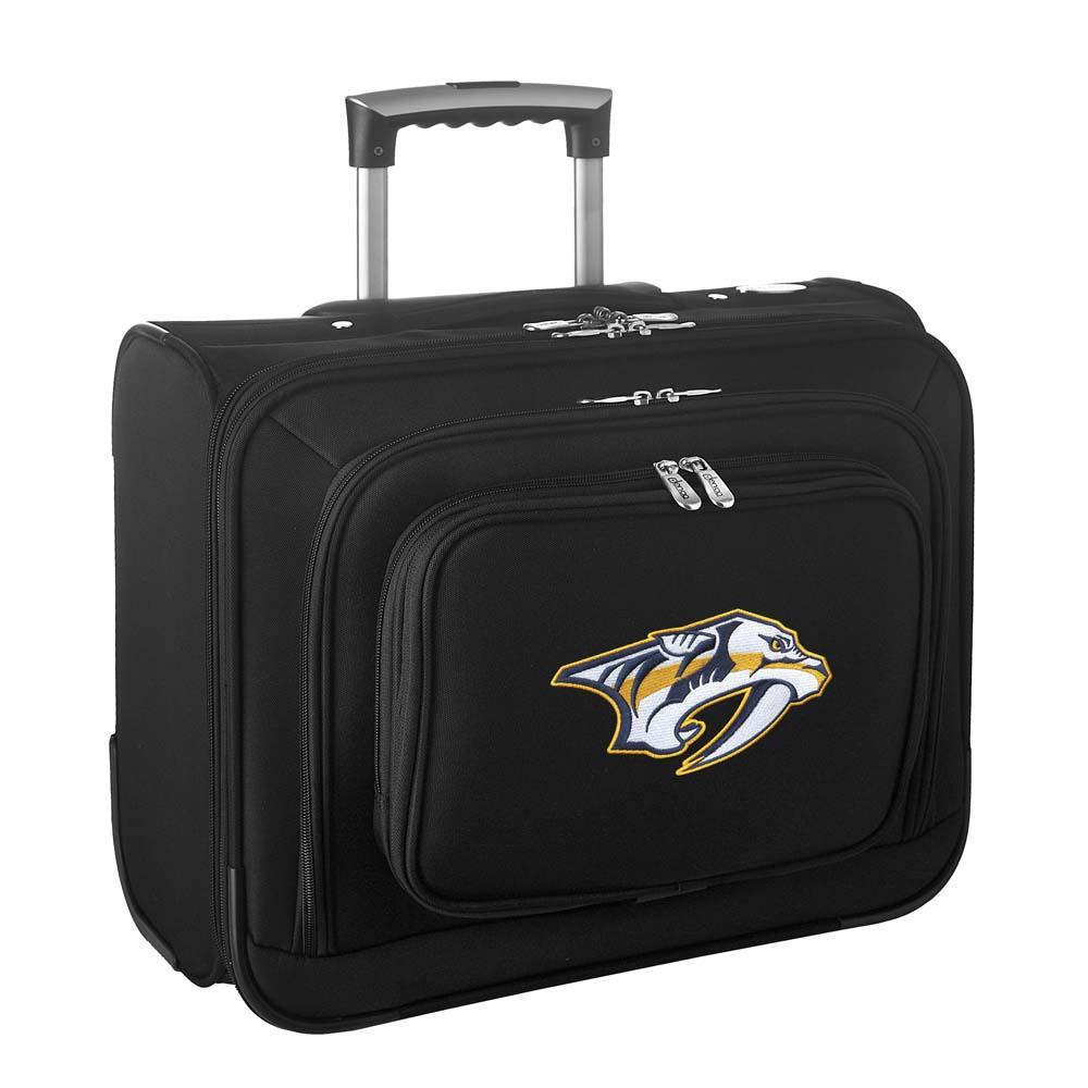 Denco NHL Wheeled Laptop Overnighter, Nashville Predators by Mojo Licensing