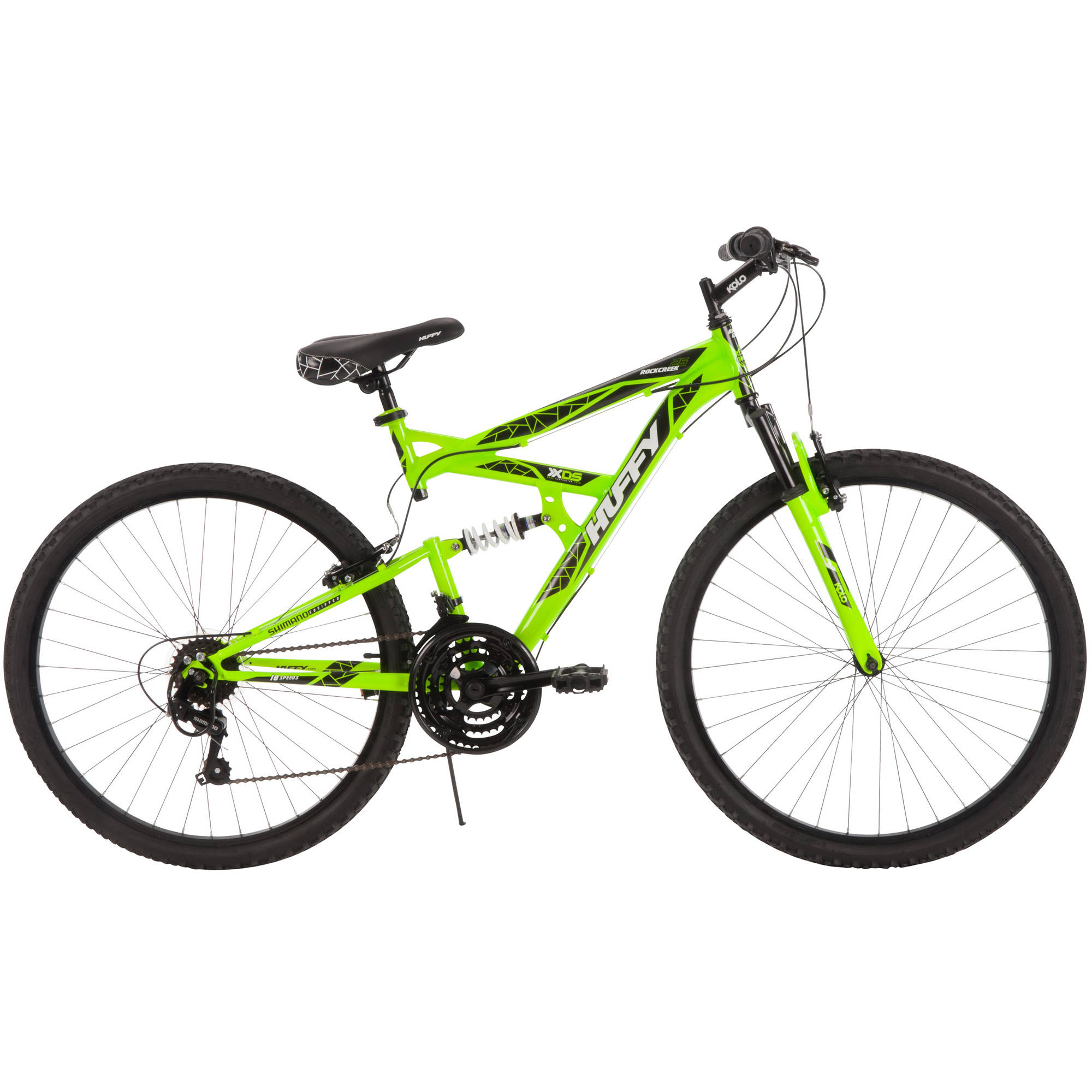 "26"" Huffy Men's Rock Creek Mountain Bike, Green"