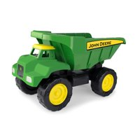"John Deere Big Scoop Toy Dump Truck 15"" Green"