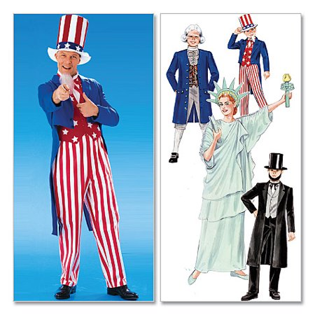 Adults'/Boys'/Girls' Costumes-Adults' (MED) *SEWING PATTERN*