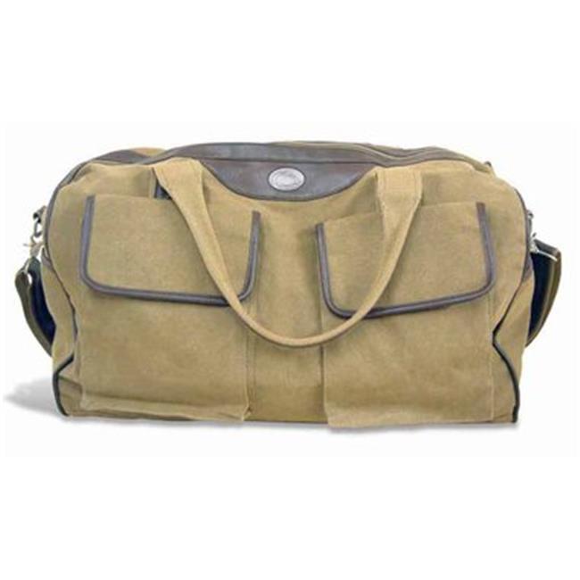 Penn State Duffel Bag Waxed Canvas 21 X 15 X 12